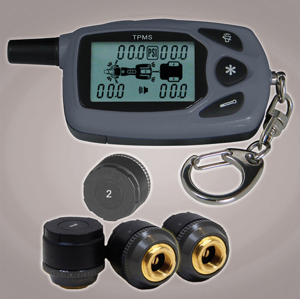 TireGard Tire Pressure Monitoring System for Bike and Trailer