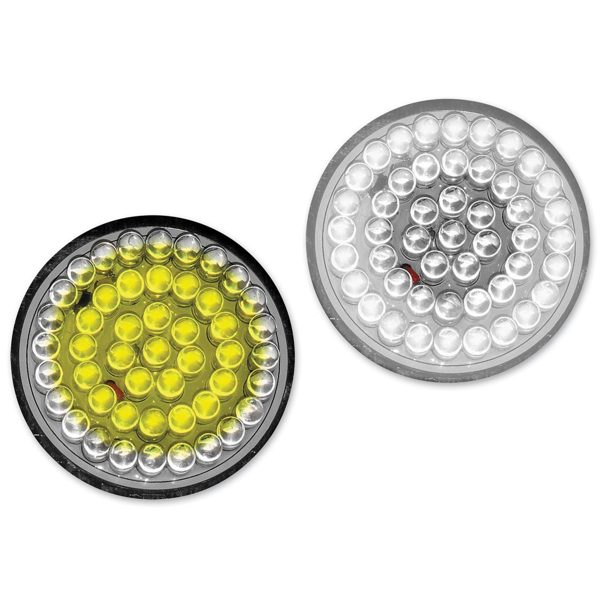 Radiantz Haloz White LED DRL With Amber Turn Signal Inserts - 9500-58