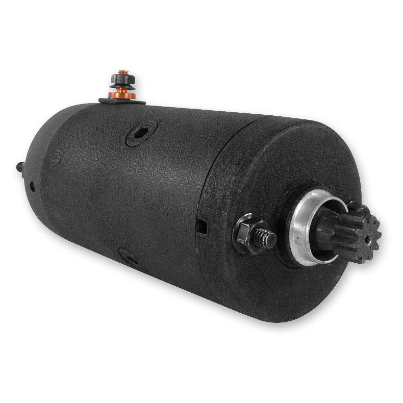 Twin Power Black Prestolite Type Starter Motor Assembly