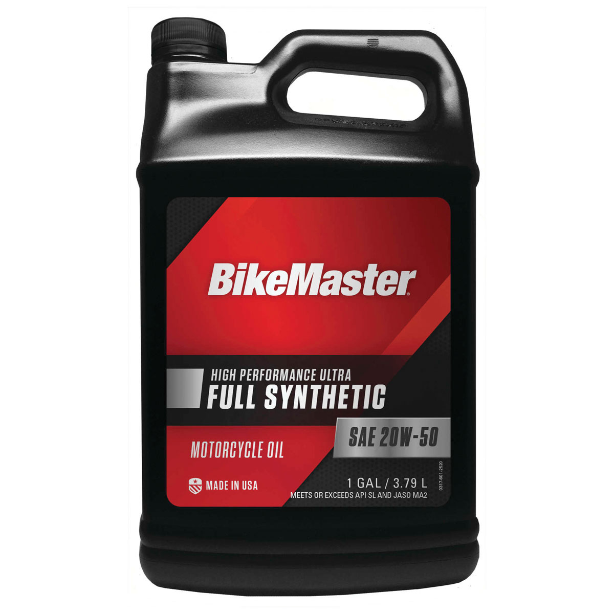 BikeMaster Full-Synthetic 20W50 Engine Oil Gallon