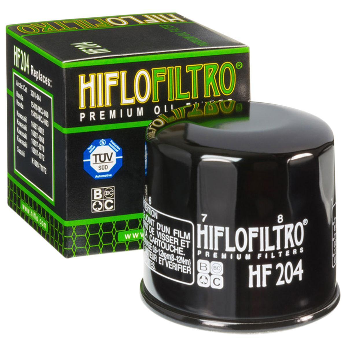 HIFLOFILTRO Oil Filter Black