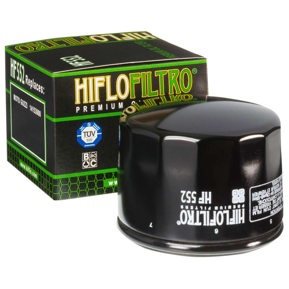 HIFLOFILTRO Oil Filter Black