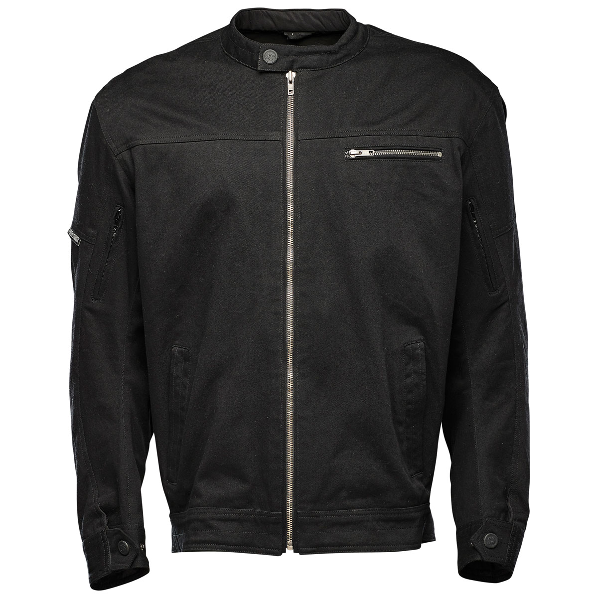 Speed and Strength Men's Rust and Redemption Black Textile Jacket