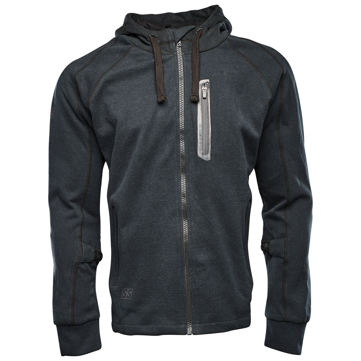 Speed and Strength Men's Run with the Bulls Black Armored Hoodie