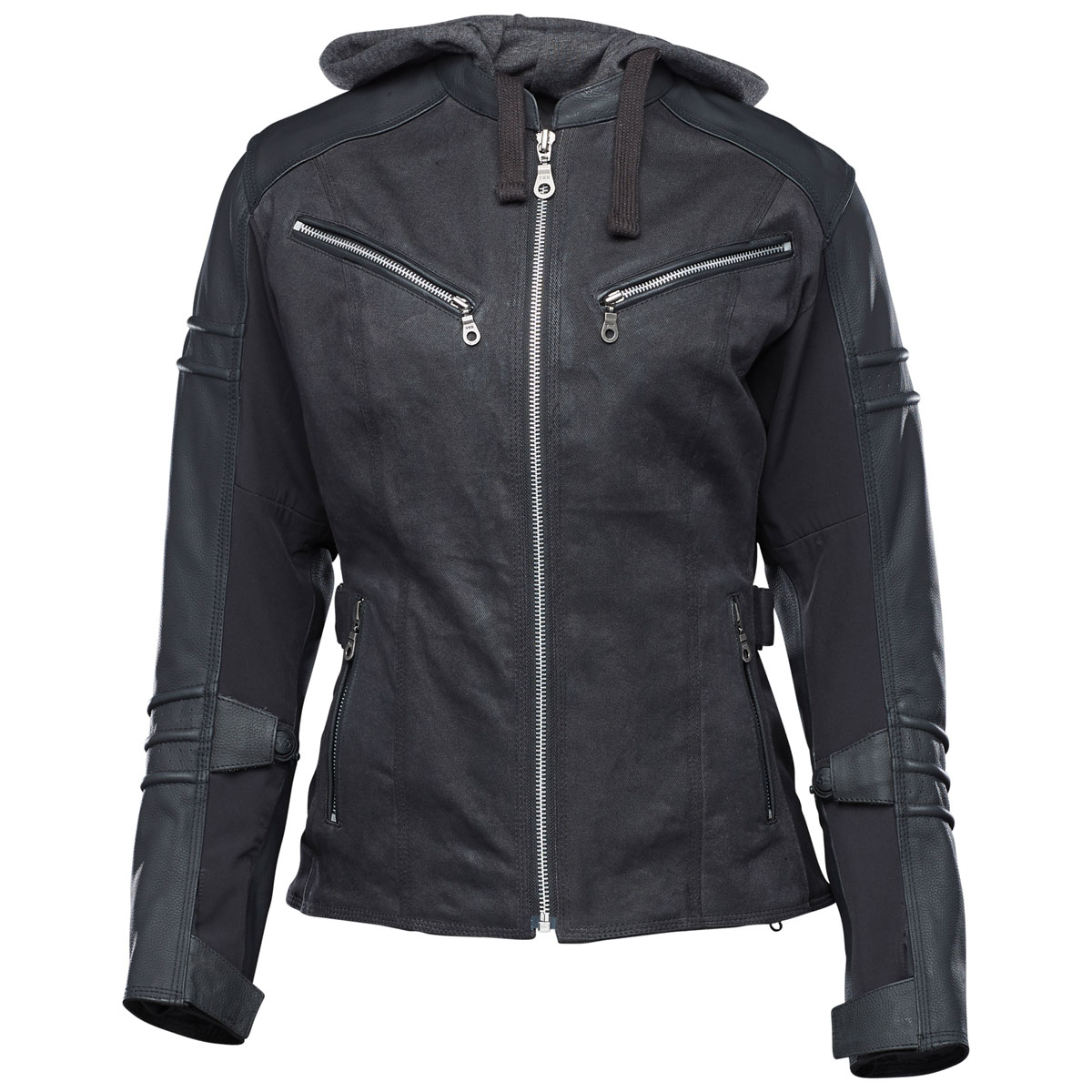 Speed and Strength Women's Street Savvy Black Jacket