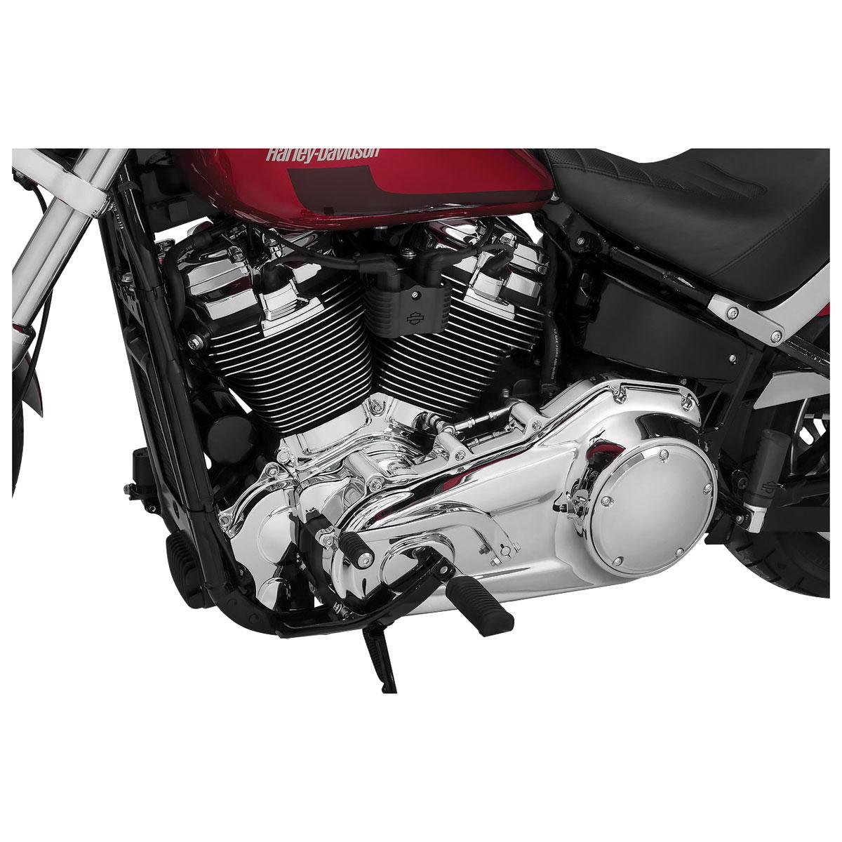 Kuryakyn 6452 Chrome Precision Cylinder Base Cover 2018-2019 Harley Softail
