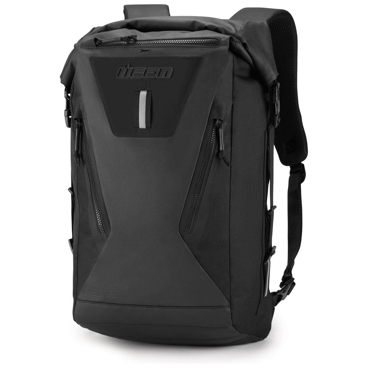 ICON One Thousand Dreadnaught Rolltop Backpack Black