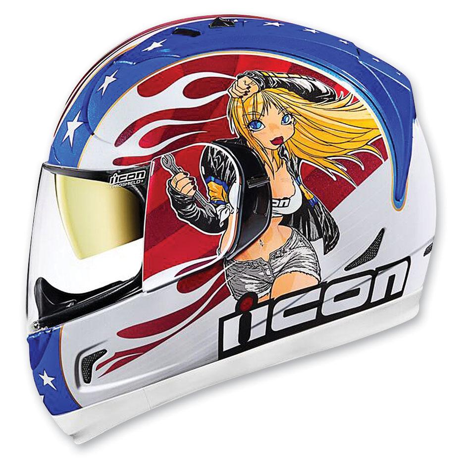 ICON Alliance GT Glory DC18 Full Face Helmet