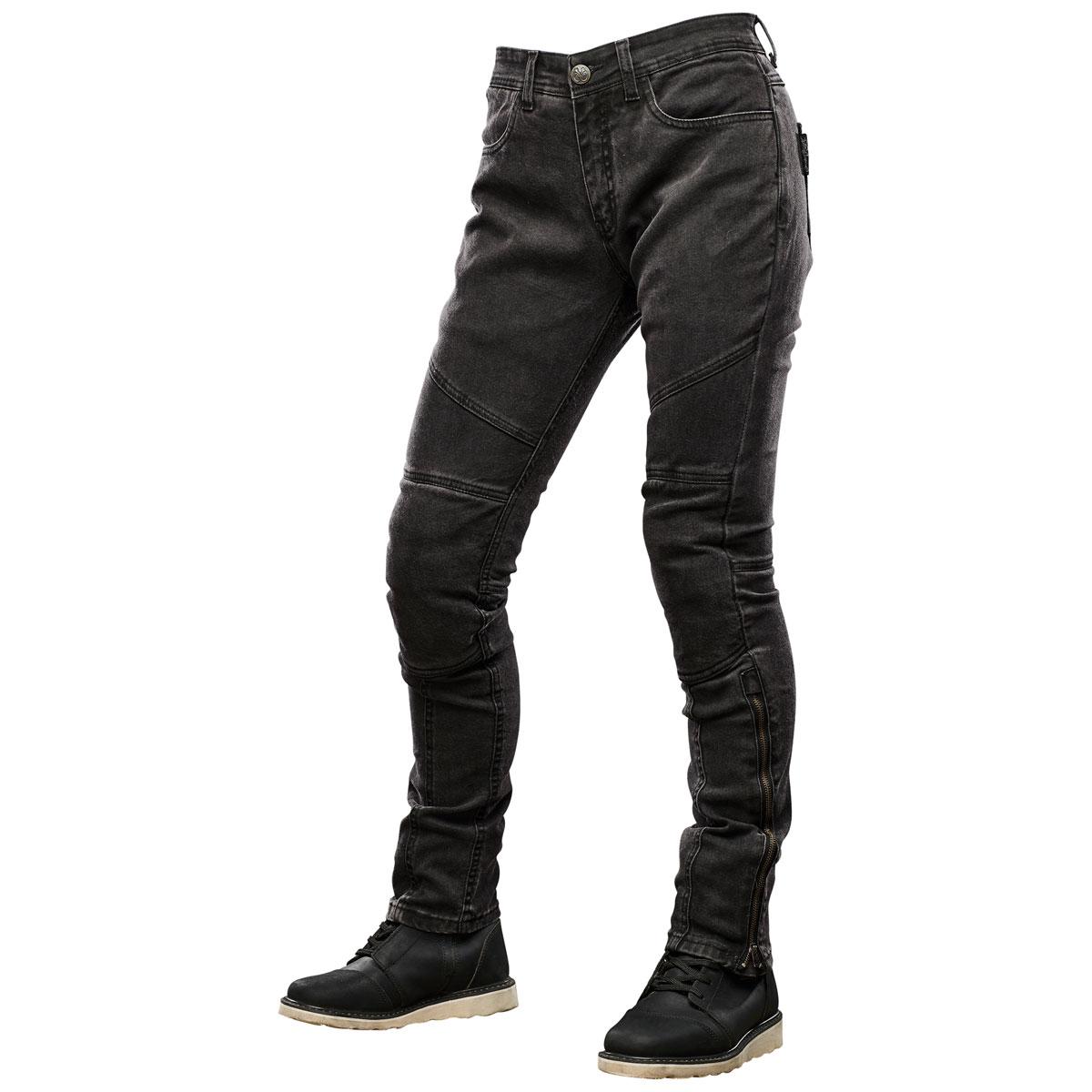 Speed and Strength Women's Street Savvy Black Moto Pants