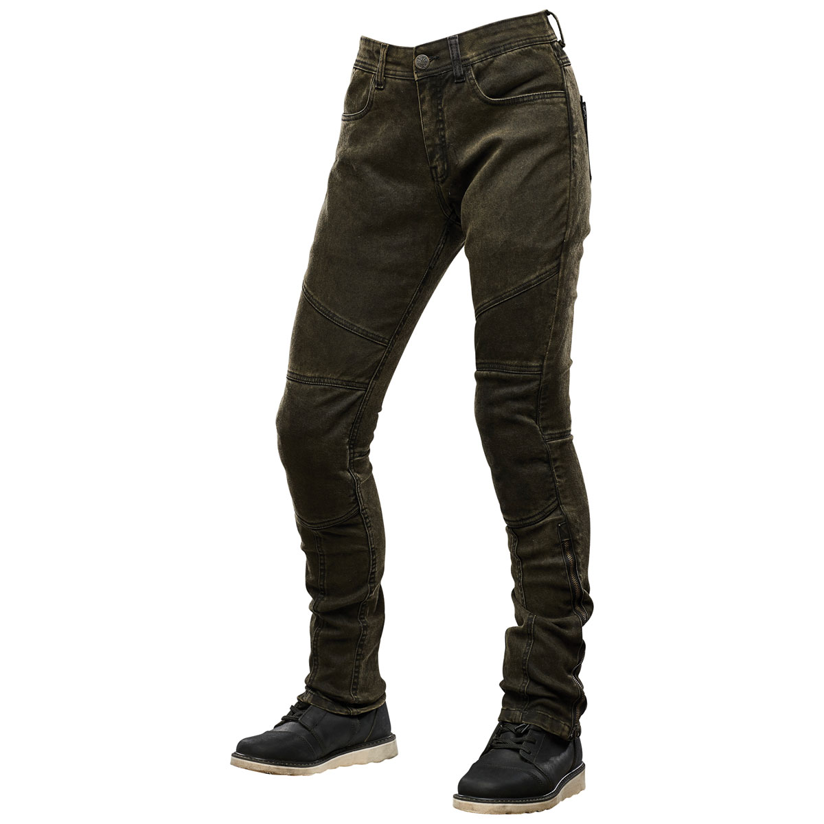 Speed and Strength Women's Street Savvy Olive Moto Pants
