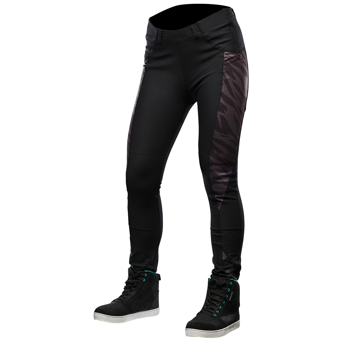 Speed and Strength Women's Cat Out'a Hell Black Yoga Pants