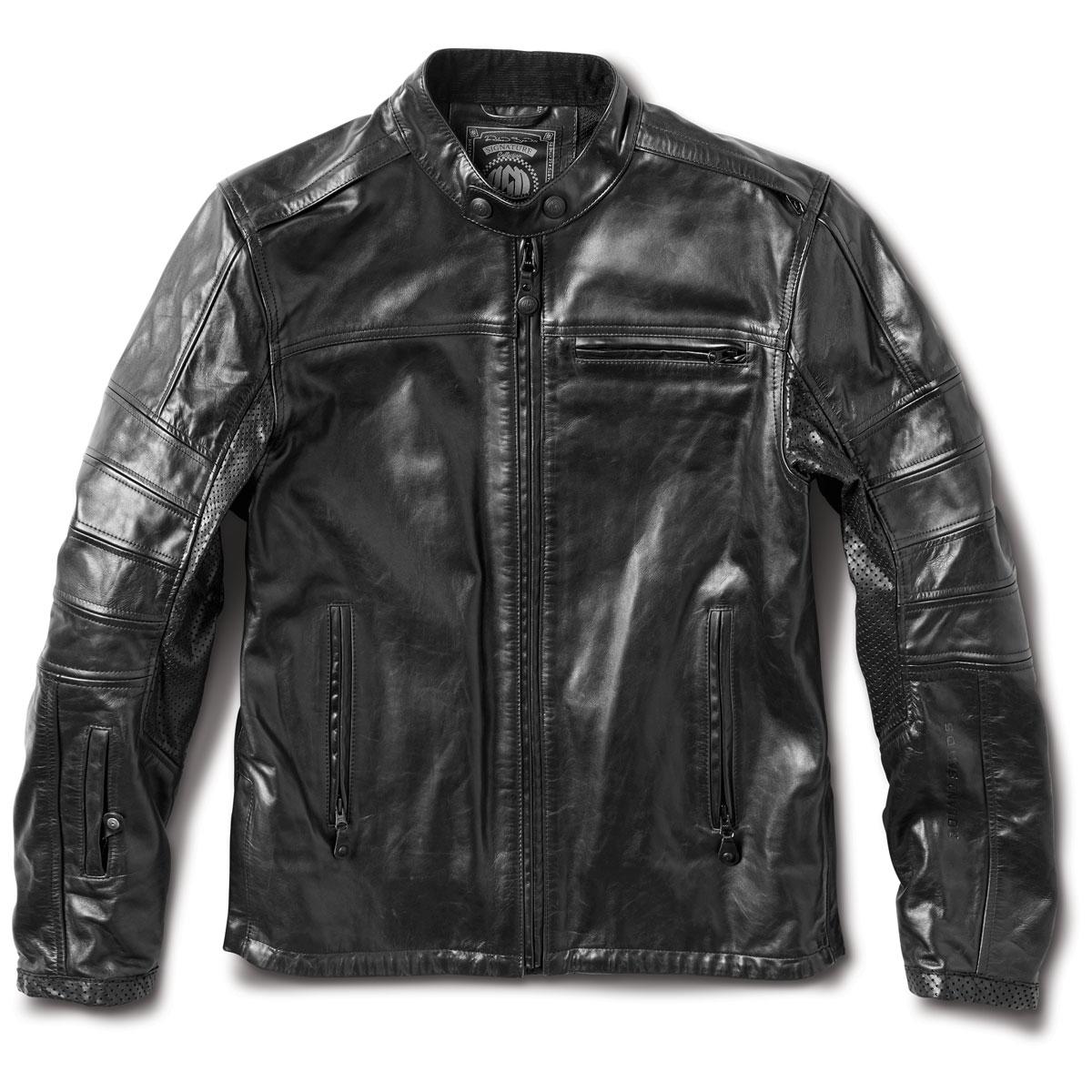 Roland Sands Design Apparel Men's Ronin RS Signature Black Leather Jacket