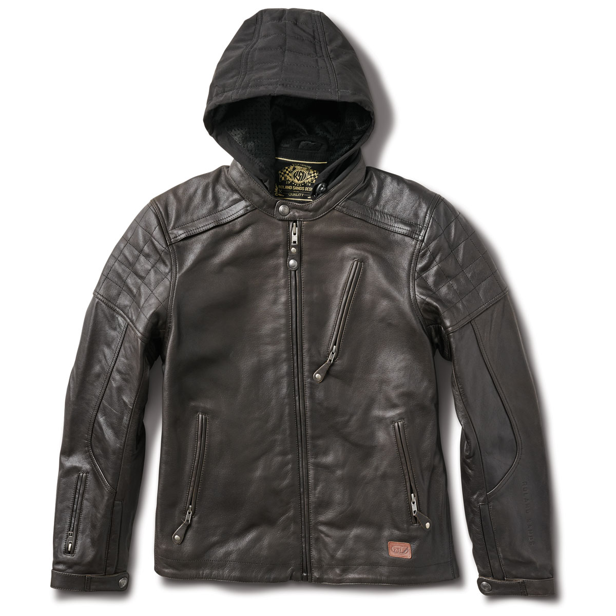 Roland Sands Design Apparel Men's Jagger Tobacco Leather Jacket