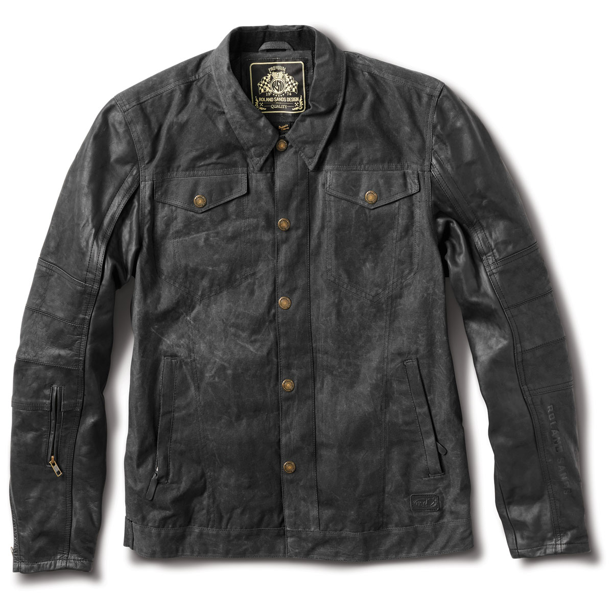Roland Sands Design Apparel Men's Johnny Black Jacket