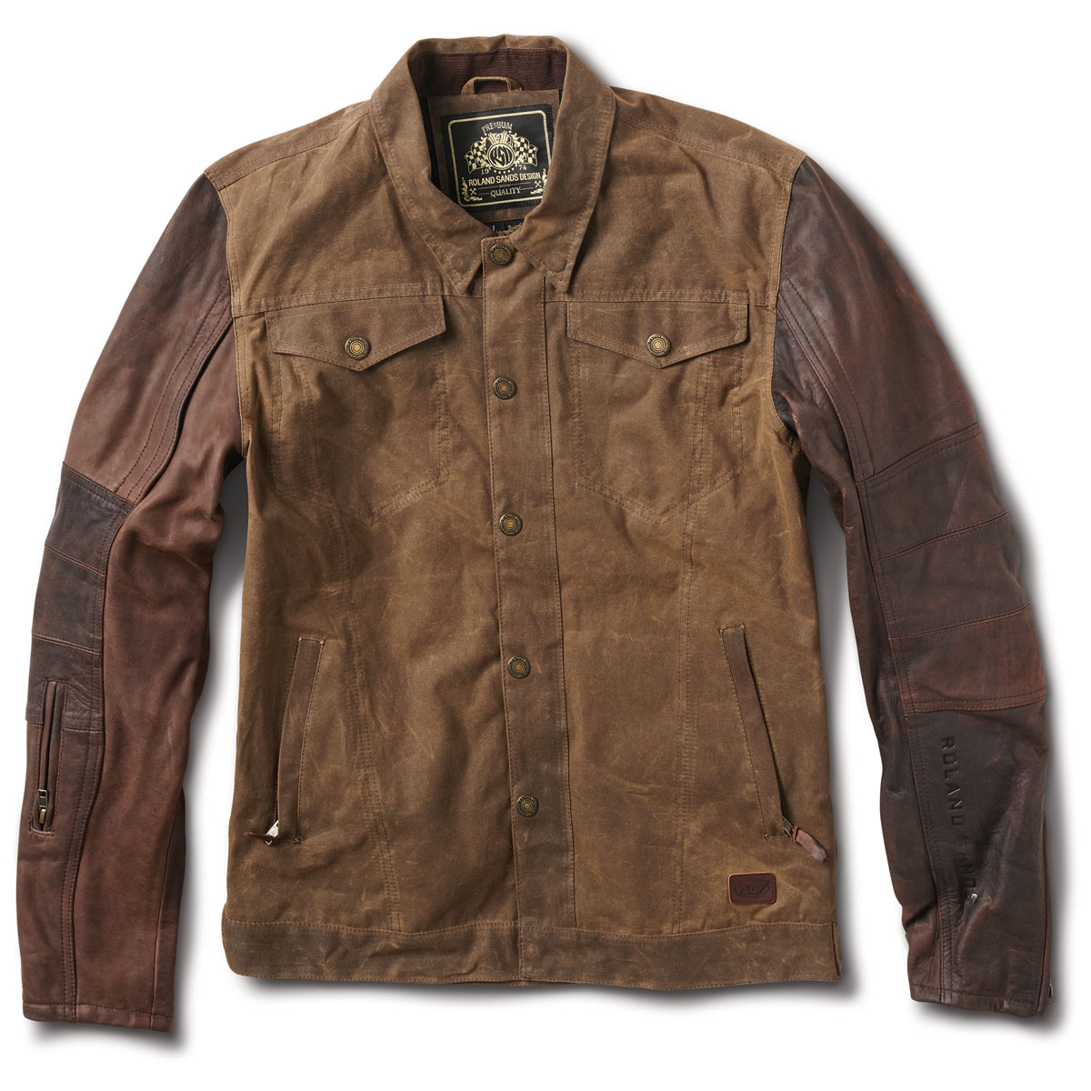 Roland Sands Design Apparel Men's Johnny Ranger/Mahogany Jacket