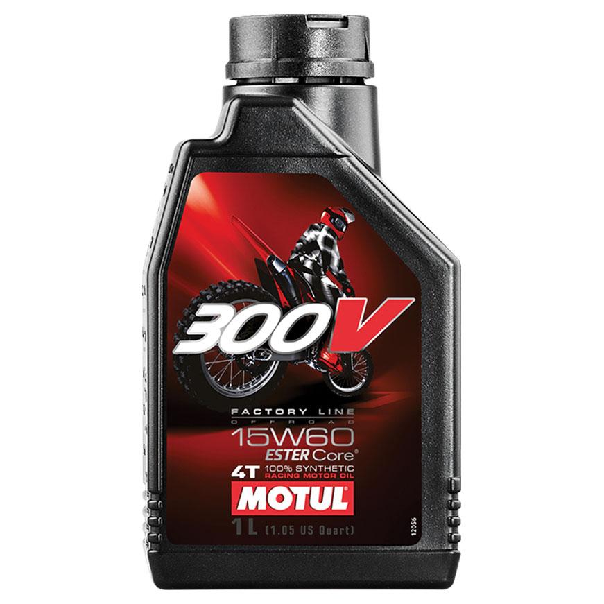 MOTUL 300V Off Road Synthetic Motor Oil
