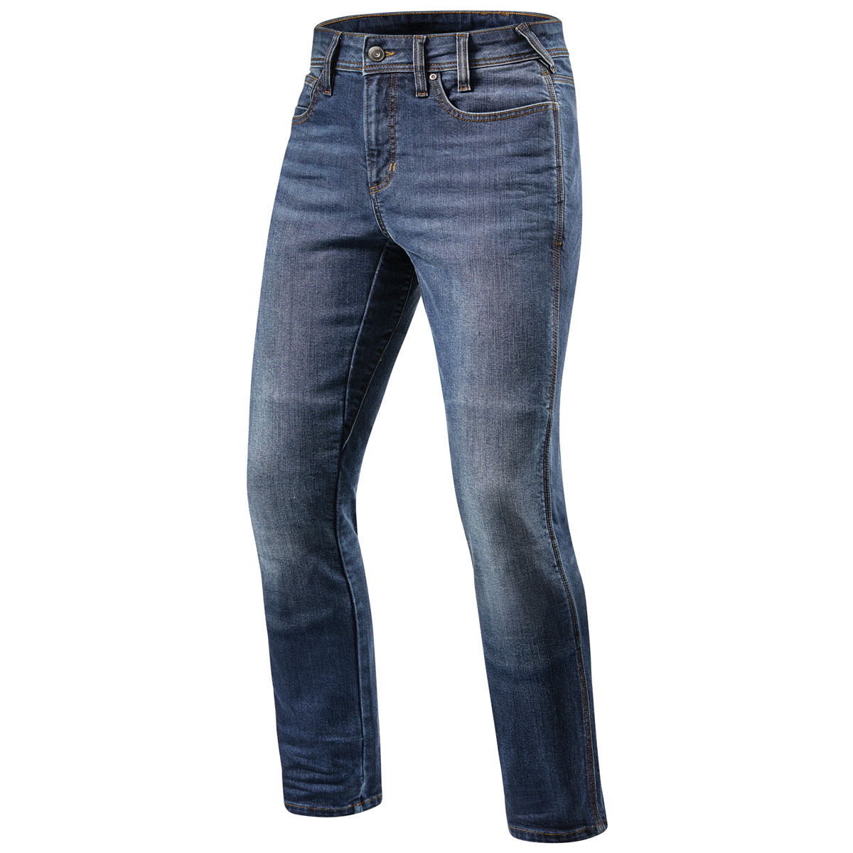 REV′IT! Men's Brentwood Slim Fit Light Blue Jeans
