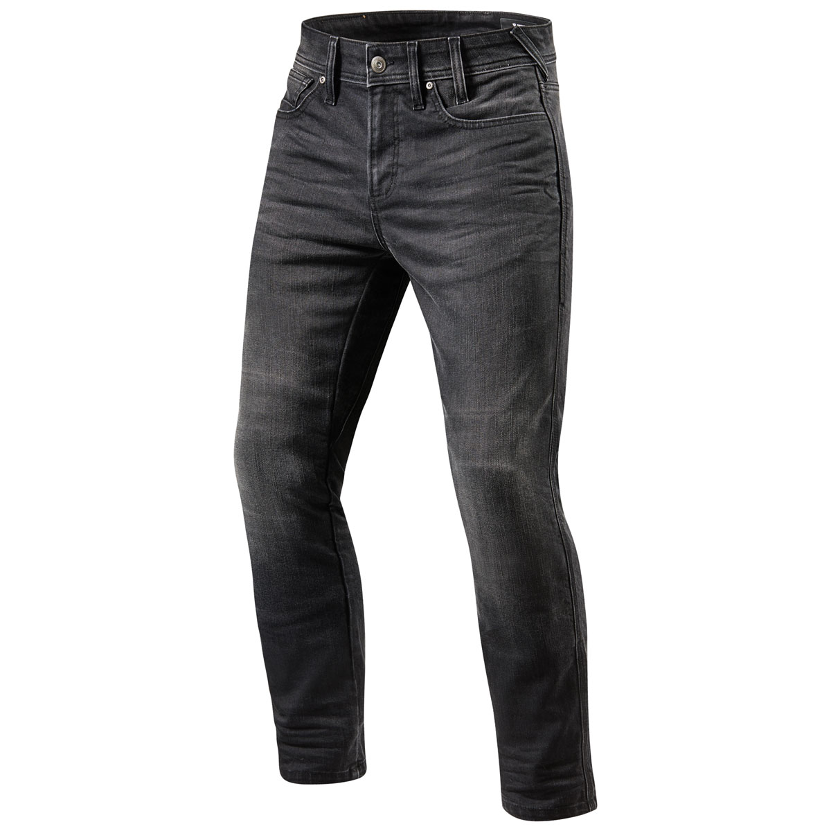 REV′IT! Men's Brentwood Slim Fit Medium Gray Jeans