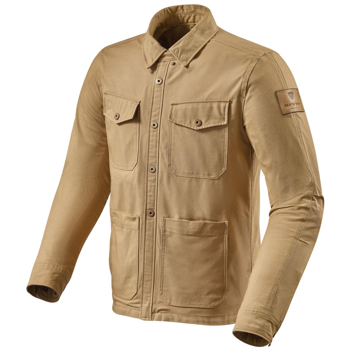 REV′IT! Men's Worker Sand Overshirt Jacket