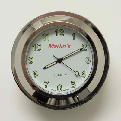 Marlin's Fork Lock Cover with Clock