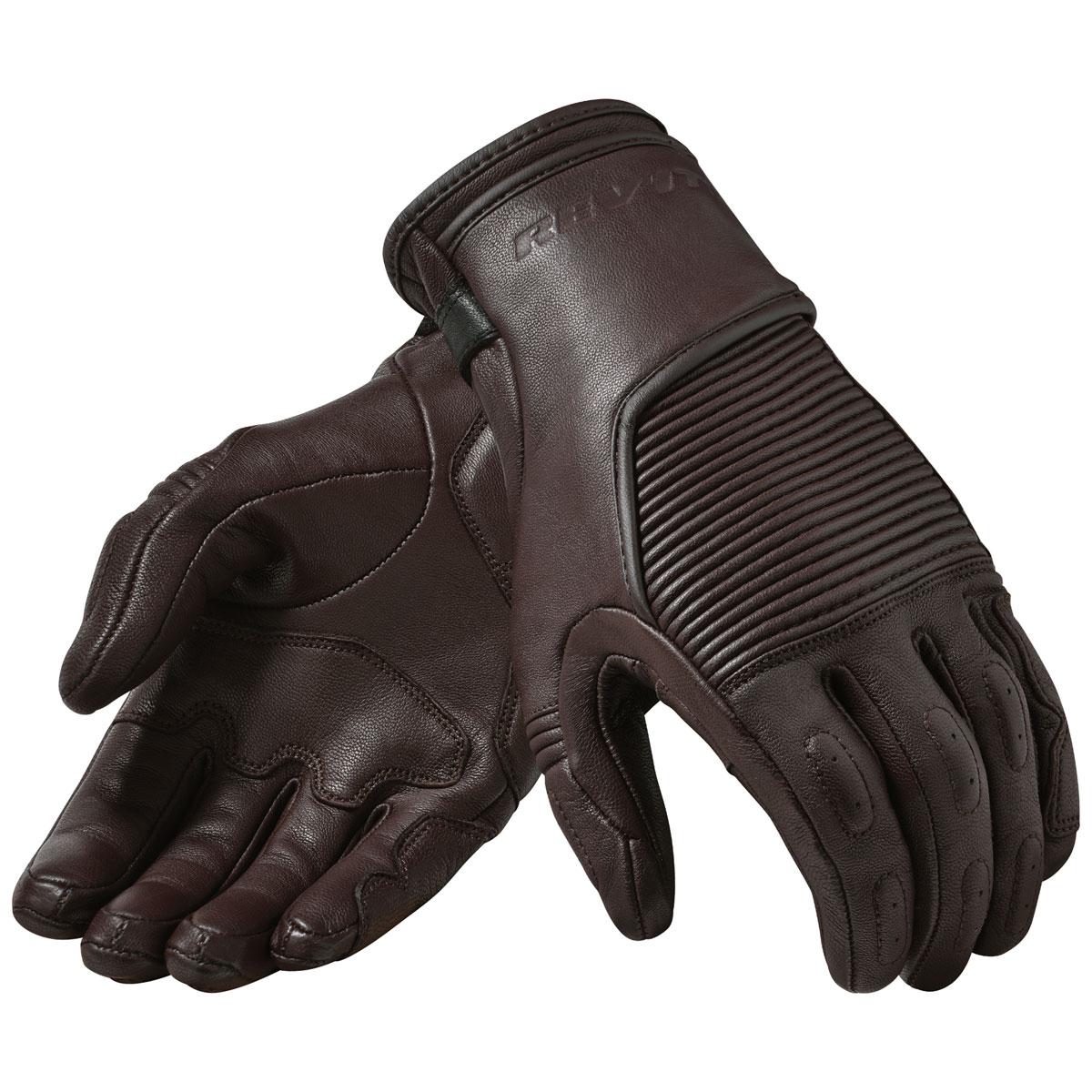 REV′IT! Men's Bastille Brown Leather Gloves