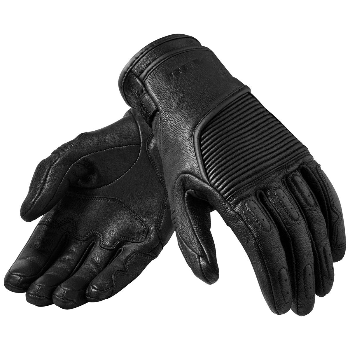 REV'IT! Women's Bastille Black Leather Gloves