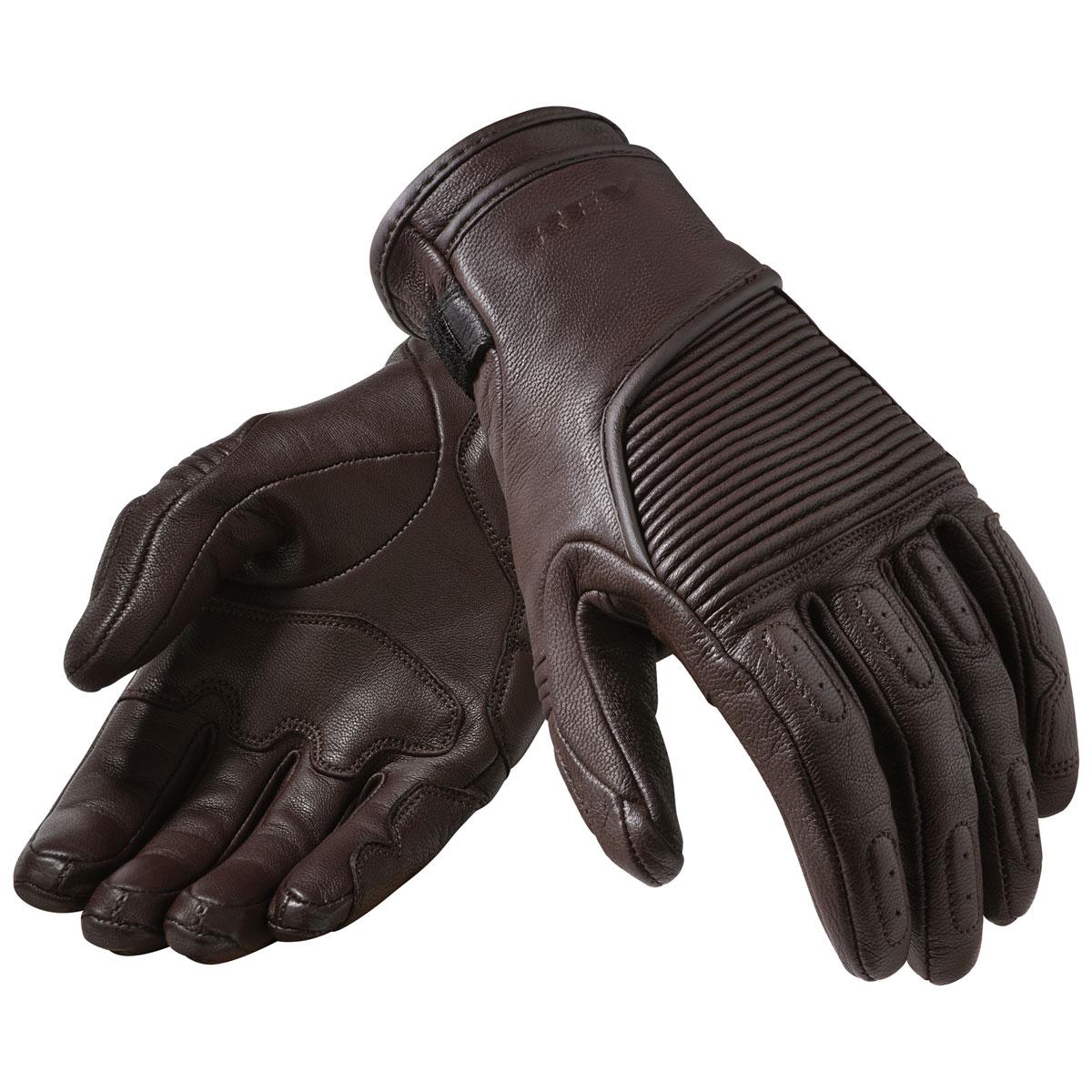 REV′IT! Women's Bastille Brown Leather Gloves