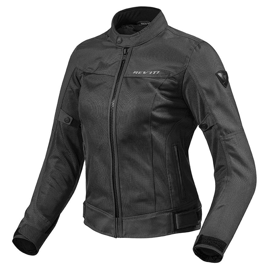 REV′IT! Women's Eclipse Black Textile Jacket