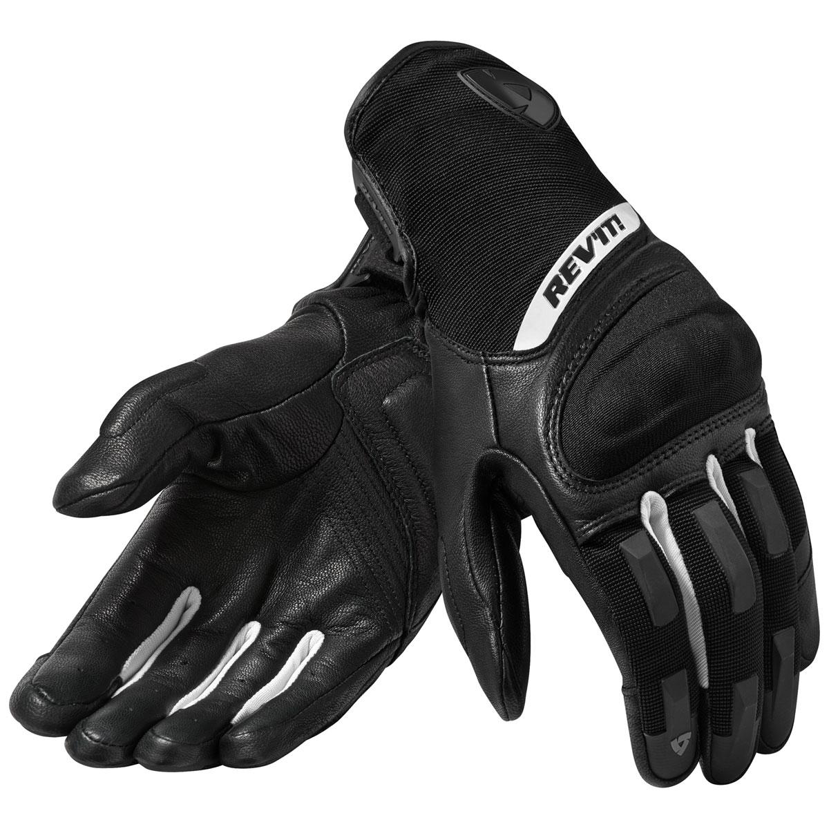 REV′IT! Women's Striker 3 Black/White Leather Gloves
