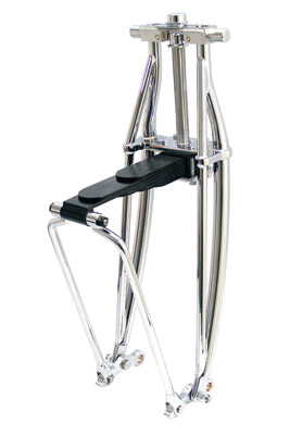 Paughco Chrome Leaf Spring Fork Assembly
