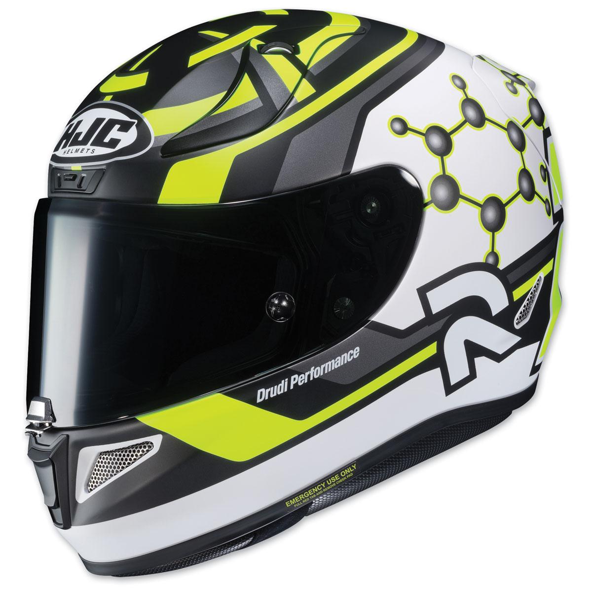 HJC RPHA 11 PRO Iannone Black/Yellow Full Face Helmet