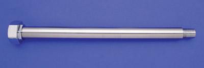 Chrome 10.5″ Rear Axle for Rigid Frames