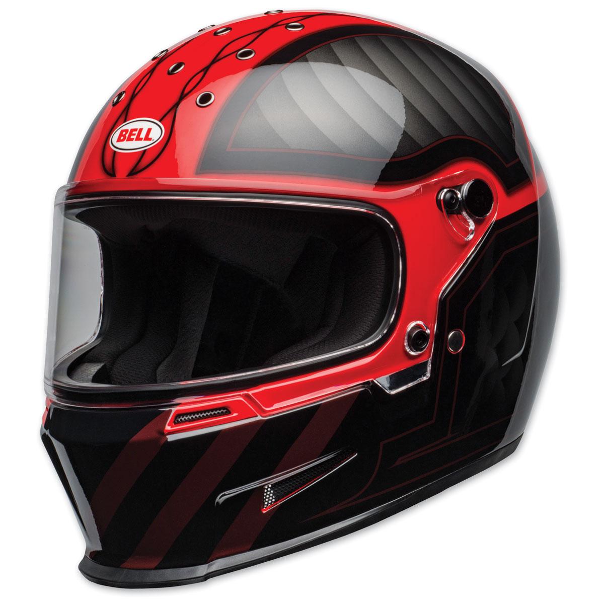 Bell Eliminator Outlaw Black/Red Full Face Helmet