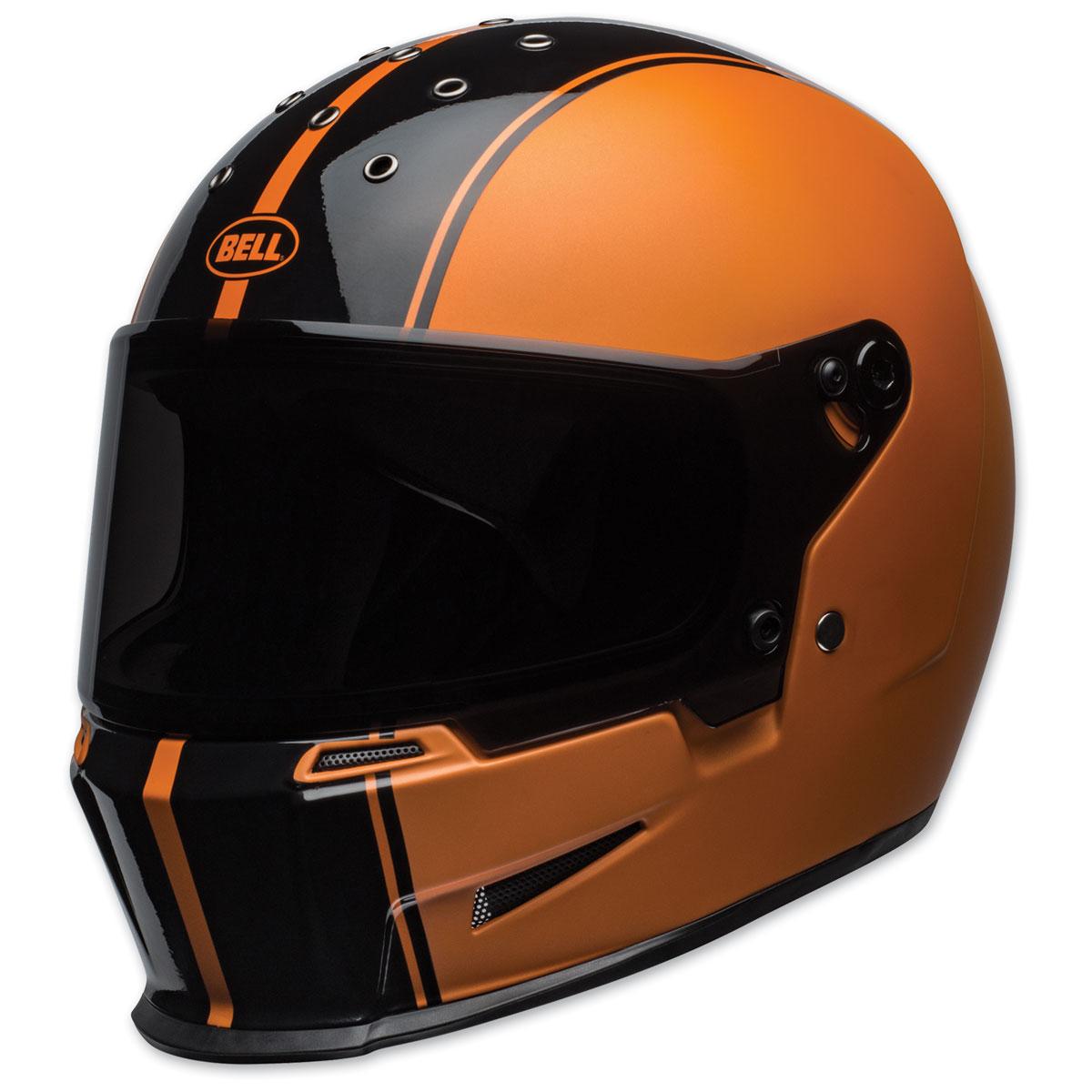 Bell Eliminator Rally Black/Orange Full Face Helmet
