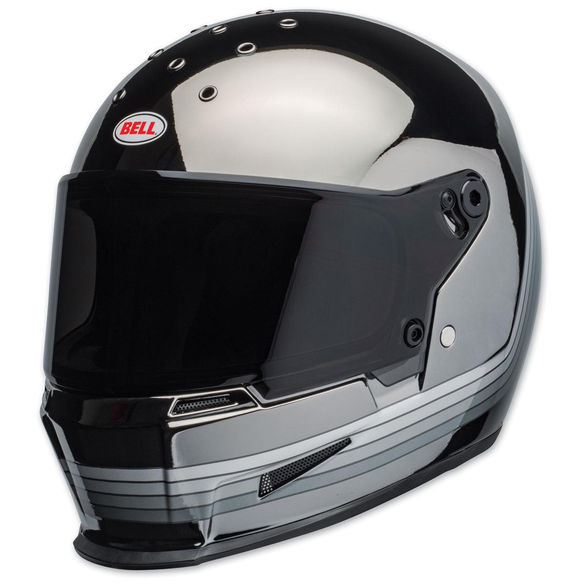 Bell Eliminator Spectrum Black/Chrome Full Face Helmet
