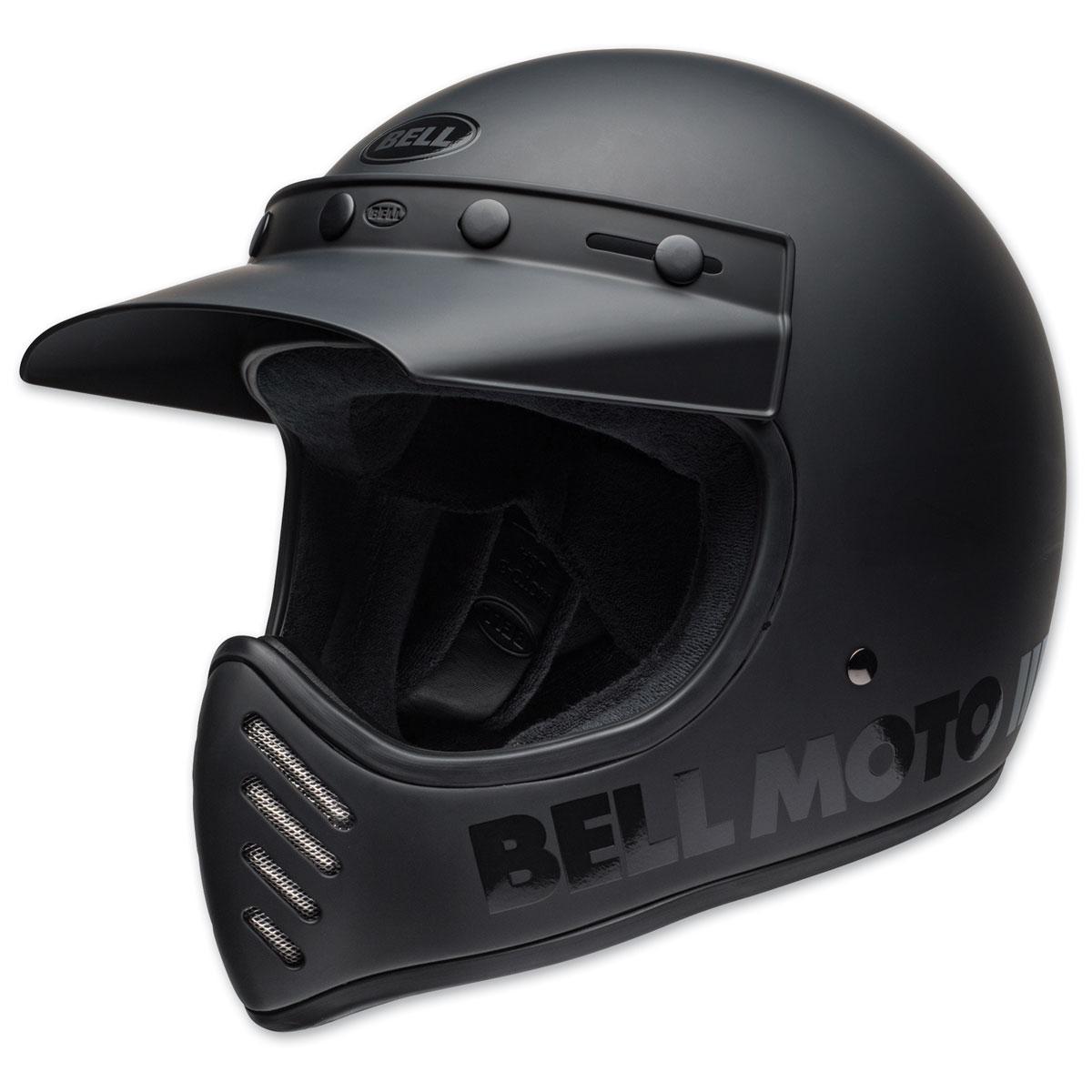 Bell Moto-3 Blackout Full Face Helmet