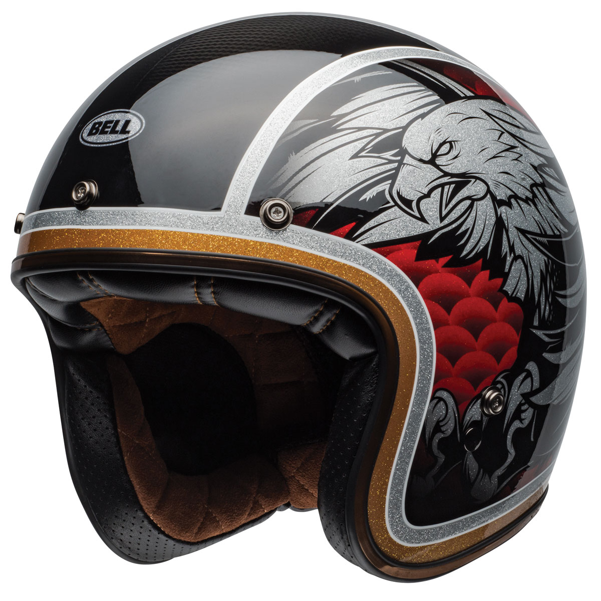 Bell Custom 500 Carbon Osprey Open Face Helmet