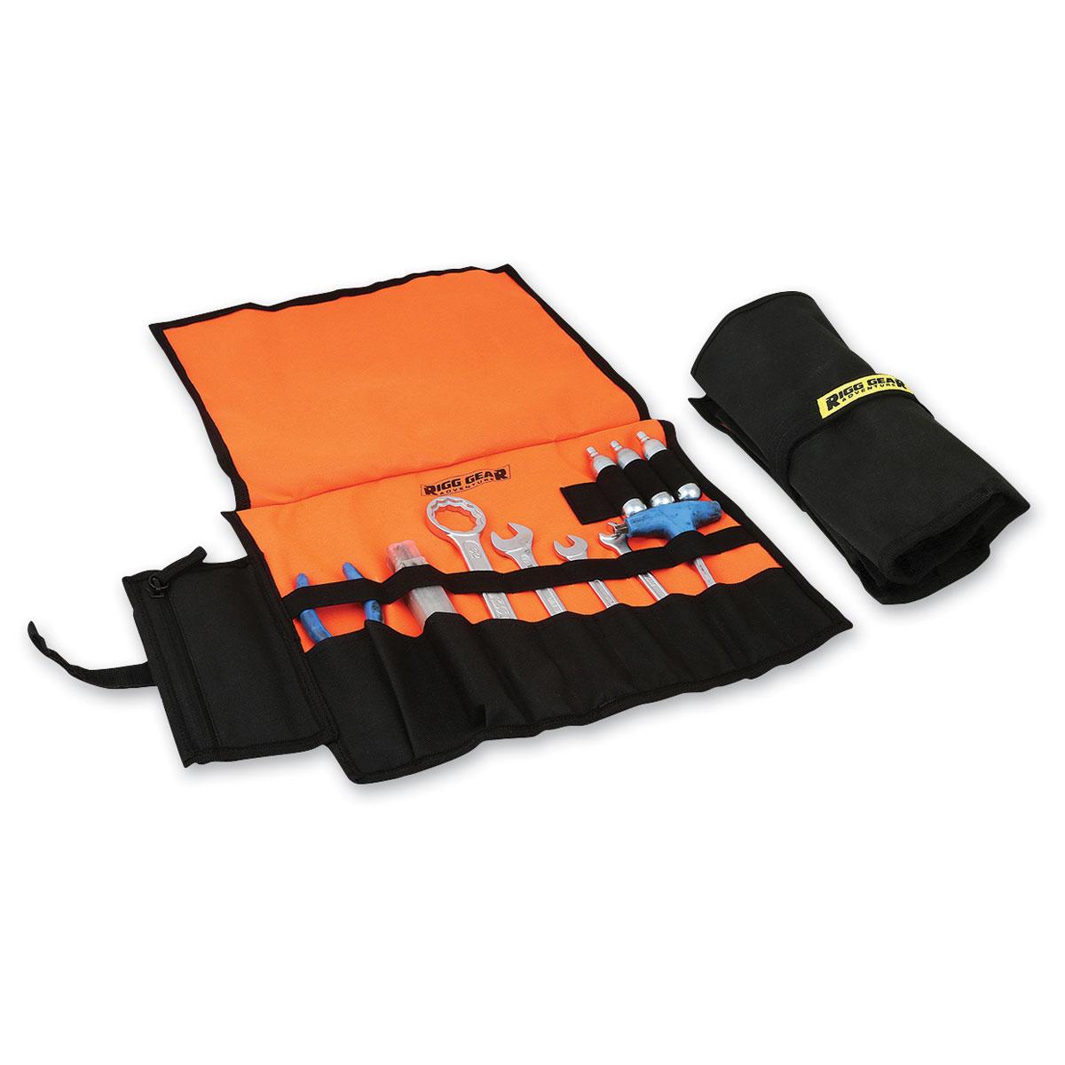 Nelson-Rigg Harley Black & Orange Tool Roll