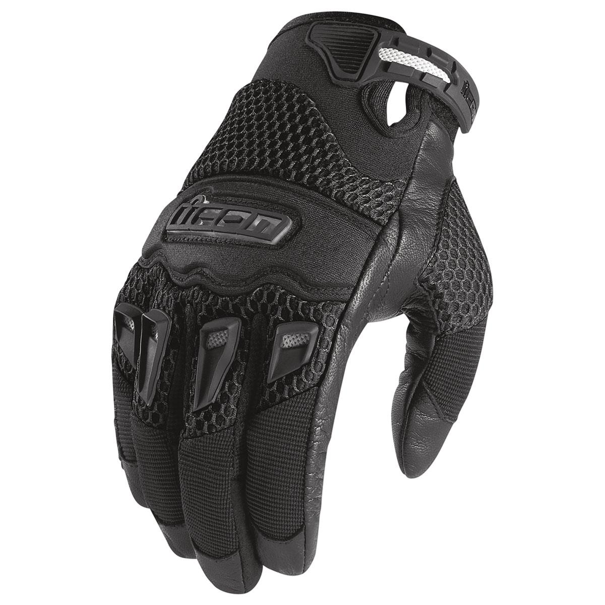 ICON Men's 29er CE Black Gloves