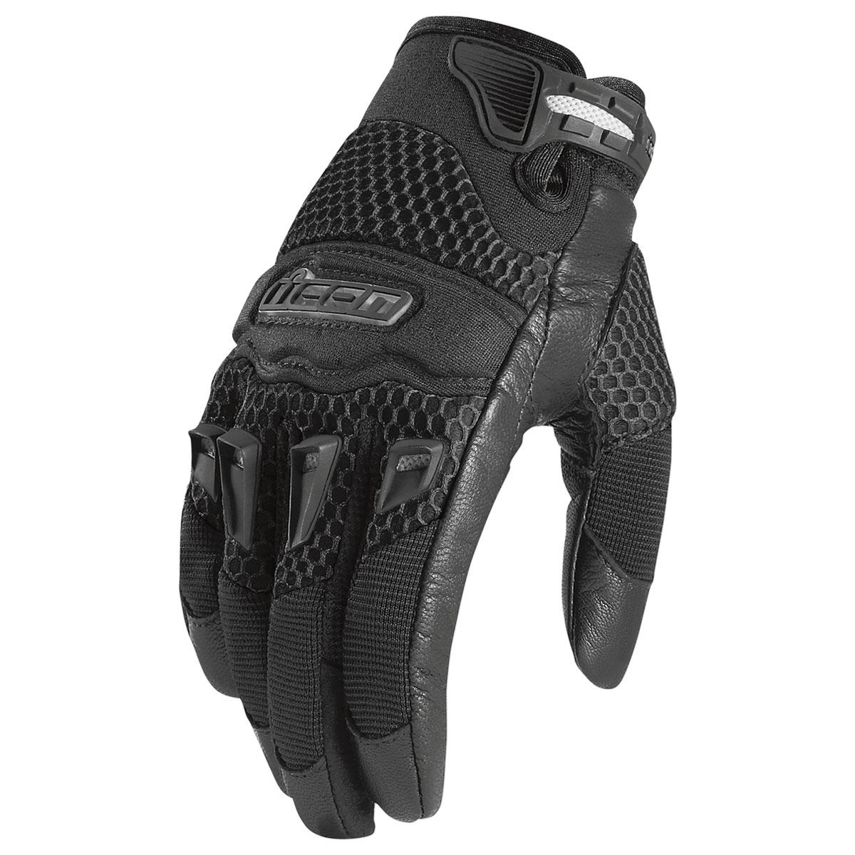 ICON Women's 29er CE Black Gloves