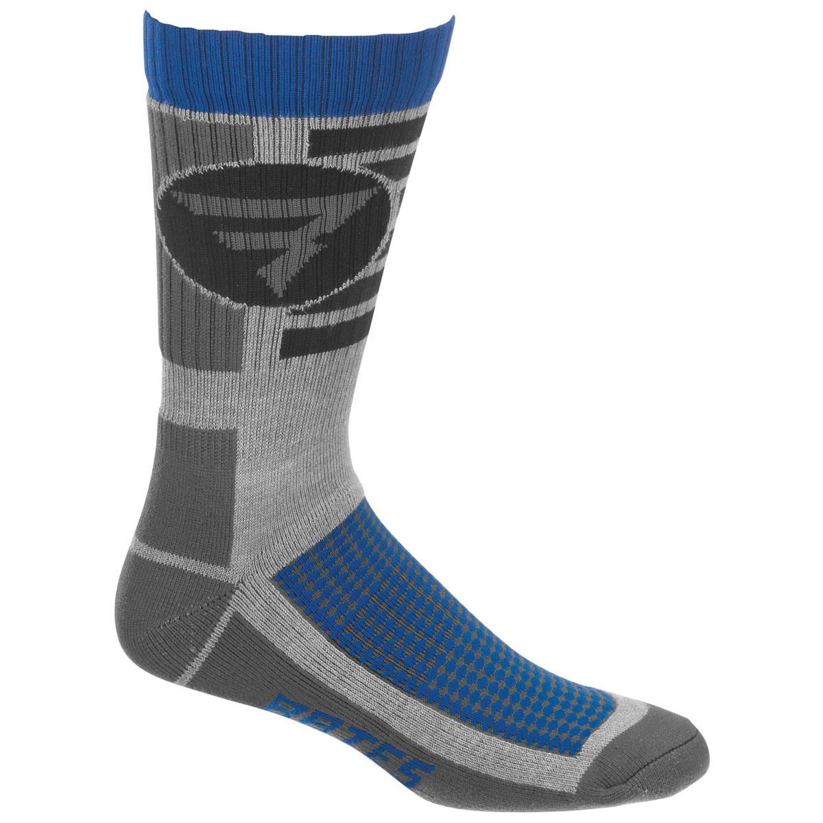 Bates Men's Performance Crew Gray Socks