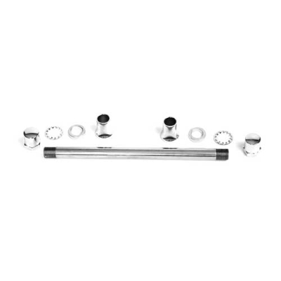 Paughco Axle Kit for Wide Tapered Rear Leg Springers