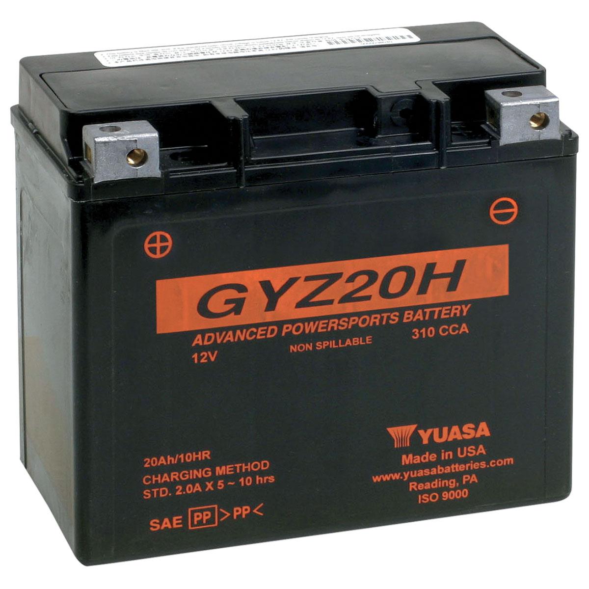 Yuasa GYZ-Series Batteries