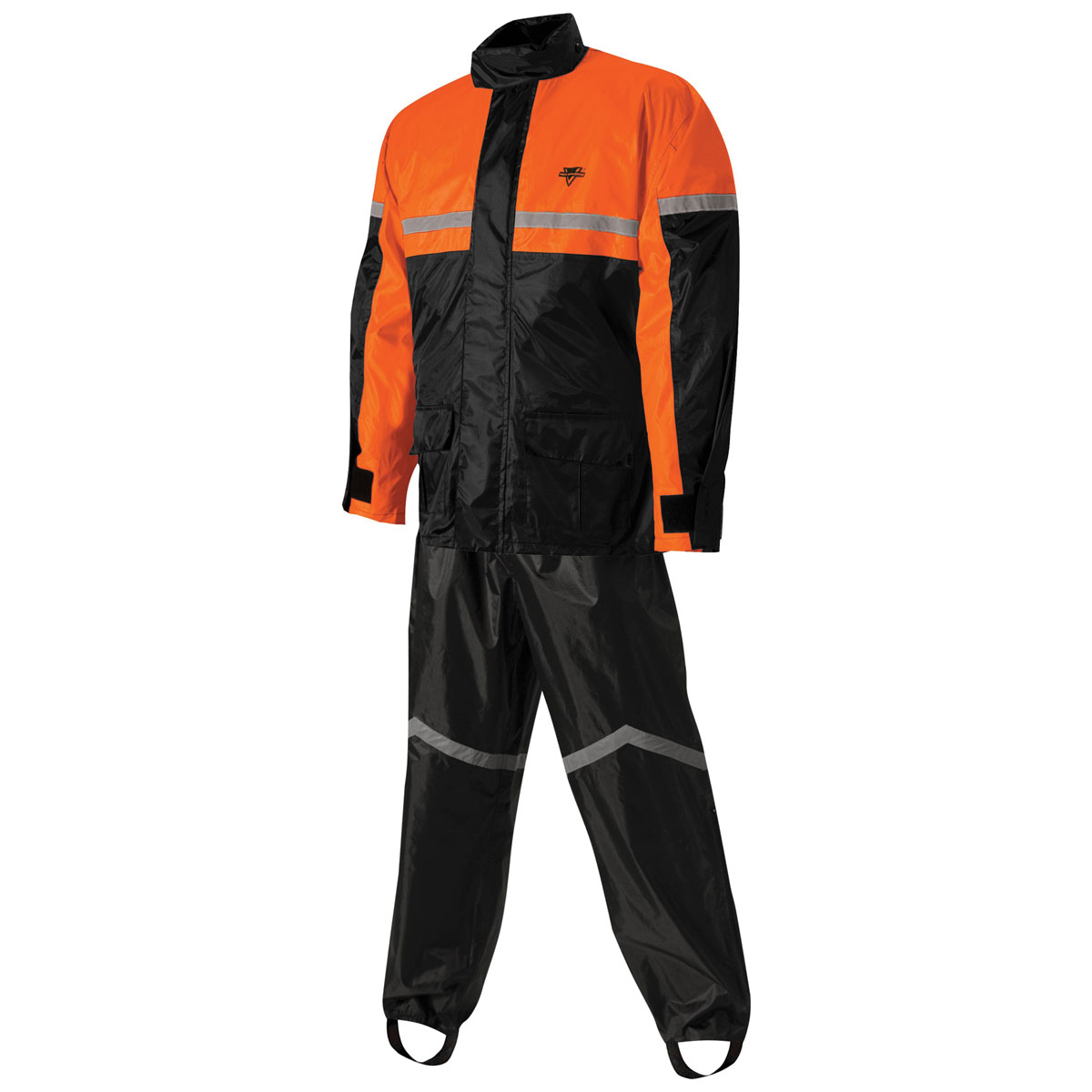 Nelson-Rigg SR-6000 Stormrider Black/Orange Rain Suit