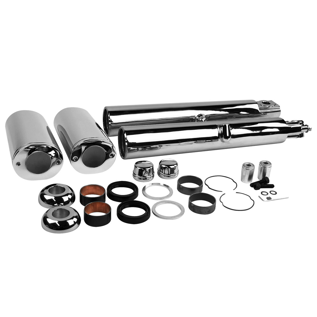 V-Twin Manufacturing Chrome Dress Up Kit