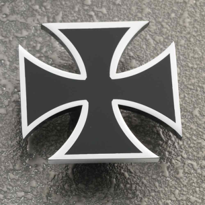 Moto Trix Maltese Cross Axle Cap