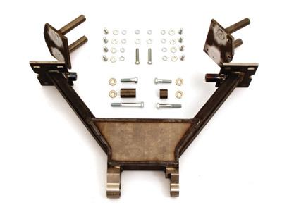 Paughco Trike Swingarm Assembly for Softail