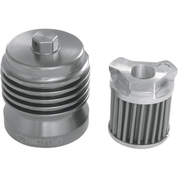 FLO Reusable Spin On Oil Filter Polished
