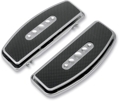 Hotop Designs Chrome Floorboard Pads