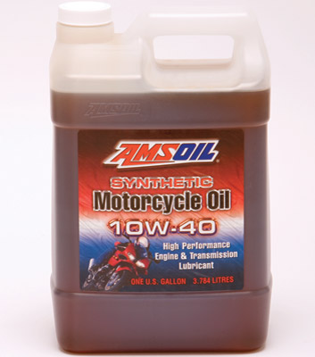 amsoil 10w-40 advanced synthetic motorcycle oil | 221-772 | j&p cycles